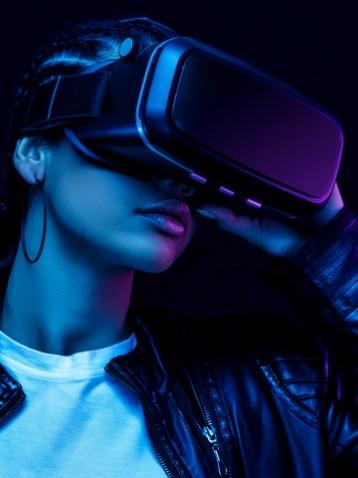 realtà virtuale con tracciamento ottico