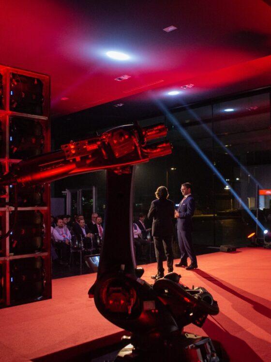 OSC Innovation sviluppa soluzioni di robotica per eventi