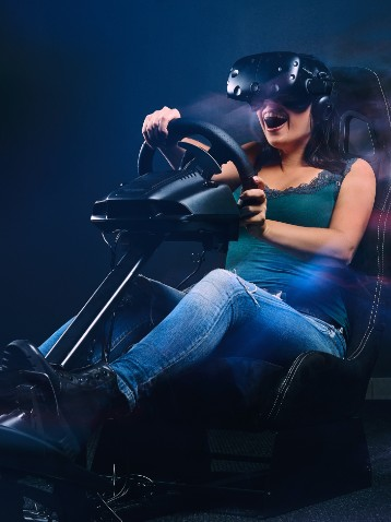 esperienze d'intrattenimento, realtà virtuale