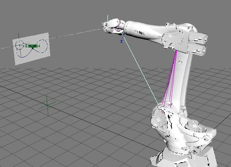 programmazione robot laser Kuka per mecspe3